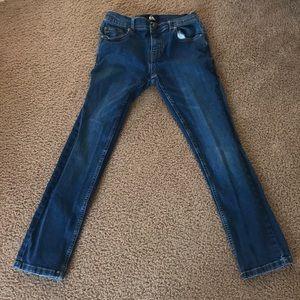 Quicksilver boys blue jeans size 25